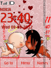 Couple Lovers tema screenshot