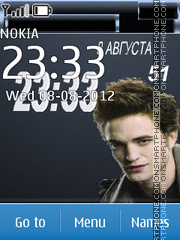 Edward Cullen - Twilight Saga theme screenshot