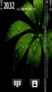 Black Green v2 theme screenshot