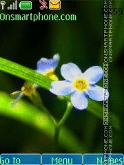 Скриншот темы Tender Flower