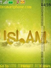 Capture d'écran Islam thème