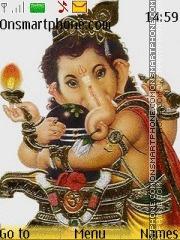 Bal Ganesha theme screenshot