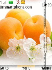 Fruits - Peach tema screenshot