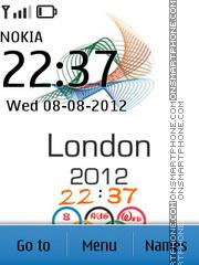 London Olympics theme screenshot