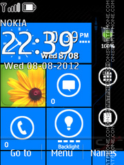 Lumia 800 theme screenshot