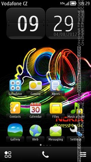 Nokia 2015 theme screenshot