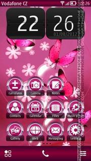 Скриншот темы Butterflies 05