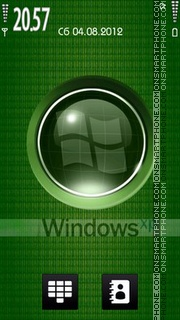 Windows Green theme screenshot