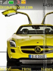 Скриншот темы Mercedes SLS AMG E-cell 01