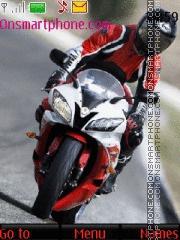 Yamaha R1 2016 theme screenshot