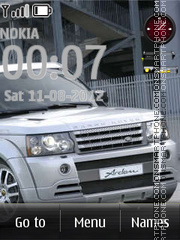 Land Rover 05 Theme-Screenshot