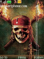 Pirates Of The Caribbean 07 theme screenshot
