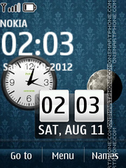 Luna Blue theme screenshot