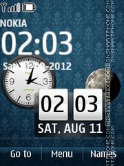 Luna Blue tema screenshot
