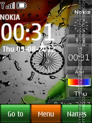 India All In One es el tema de pantalla