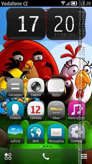 Angry Birds 2016 theme screenshot