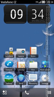 Samsung Galaxy S3 01 theme screenshot