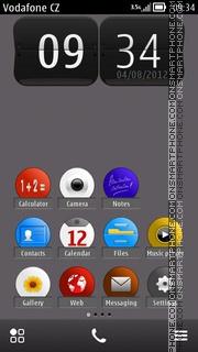 Simple Red theme screenshot