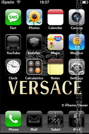Versace 04 theme screenshot