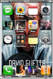 David Guetta 01 theme screenshot