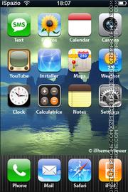 Mountain 02 theme screenshot