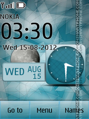 Abstract Glass theme screenshot