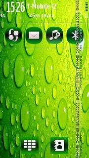 Green Drop 02 es el tema de pantalla