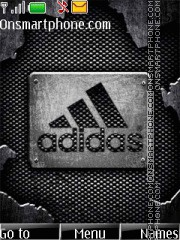 Metal Adidas theme screenshot