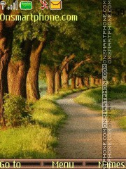 Forest Road theme screenshot