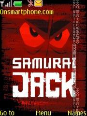 Samurai Jack theme screenshot