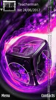 Purple Dice es el tema de pantalla