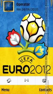 Ukraine, Euro, Logo-2012 es el tema de pantalla