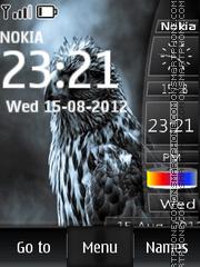 Eagle Dual Clock theme screenshot