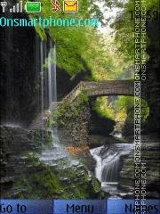 Fairy-Tail Waterfall theme screenshot