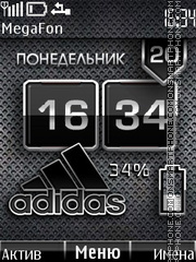 Adidas Battery theme screenshot