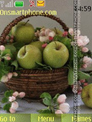 Still life with Apples theme screenshot