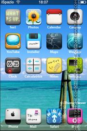 Realize Sea theme screenshot