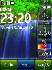 Waterfall All in One theme screenshot