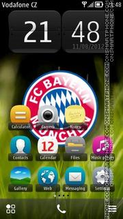 FC Bayern Munchen 04 theme screenshot