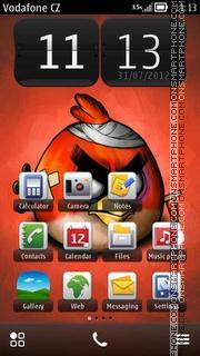 Angry Bird 08 theme screenshot