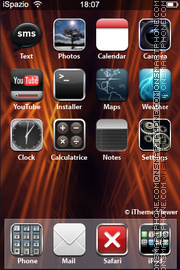 Red Passion 02 theme screenshot