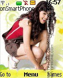 Genelia Dsouza 11 theme screenshot
