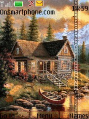 Скриншот темы Home In Forest