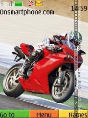 Ducati 1094 theme screenshot