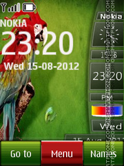 Parrot All In One theme screenshot