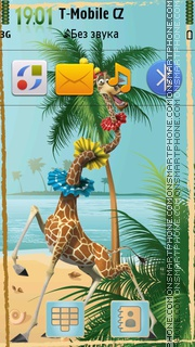 Madagascar 04 theme screenshot