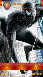 Скриншот темы Dark SpiderMan