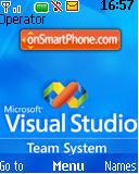 Visualstudio es el tema de pantalla