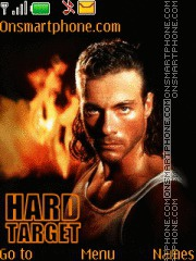 Hard Target theme screenshot