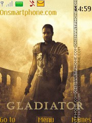 Gladiator Maximus Theme-Screenshot